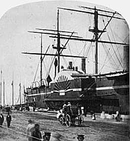 SS Great Eastern, imagem do navio SS Great Eastern