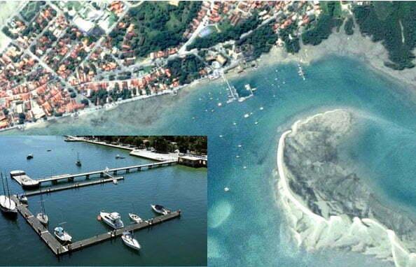 imagem de marina assaltada em Itarica
