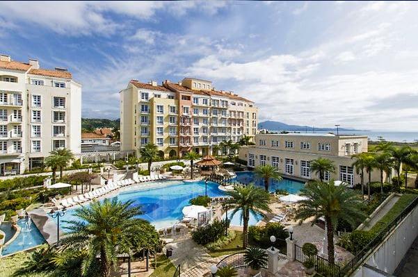 Jurerê Internacional, imagem do hotel Il Campanário Villaggio