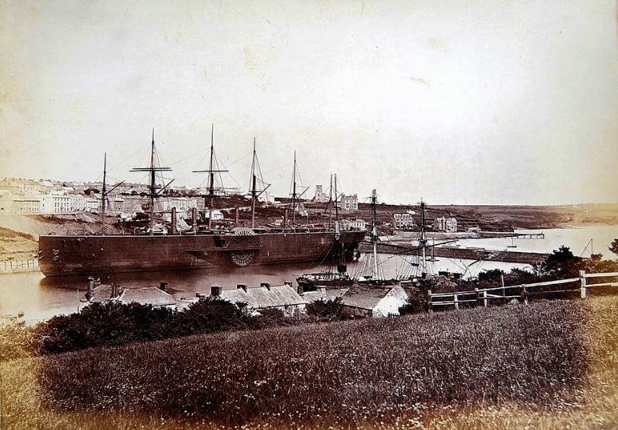 SS Great Eastern, imagem do SS Great Eastern no porto milford heaven