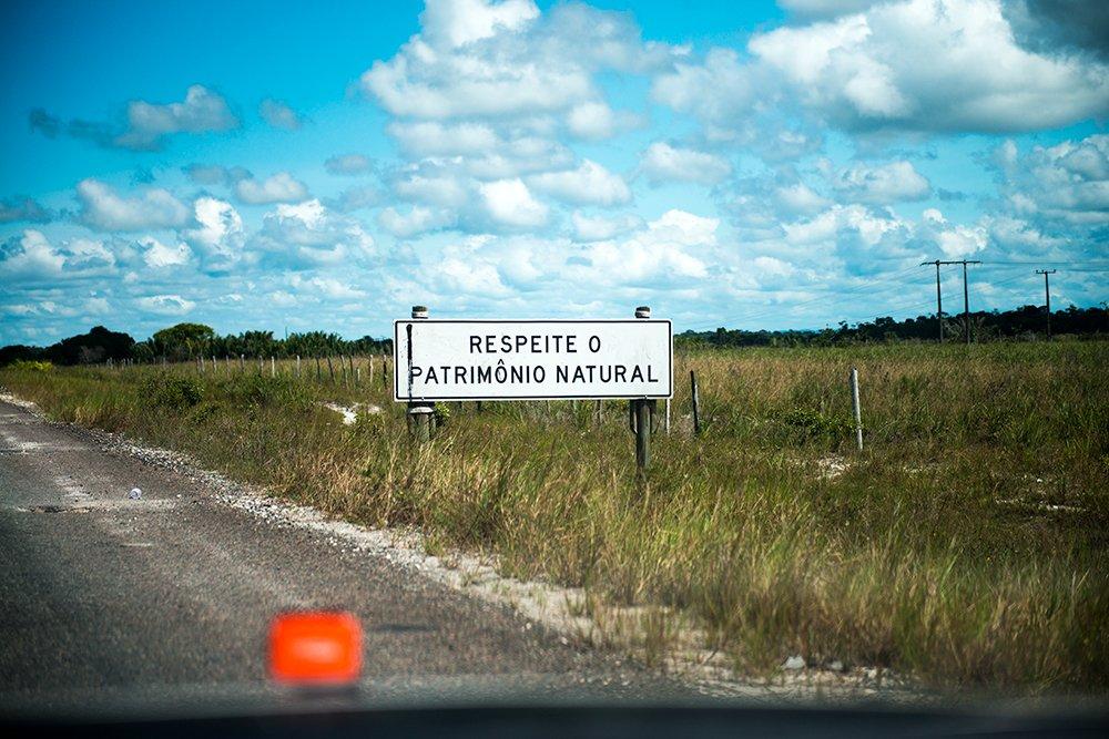 Jurerê Internacional, imagem de estrada