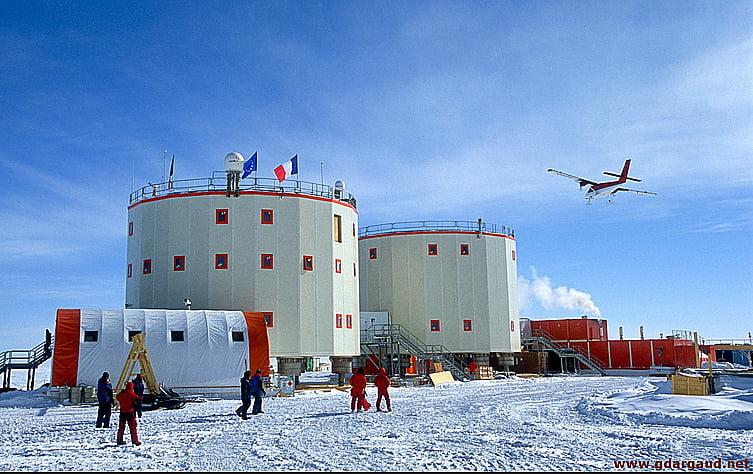 Memórias do gelo, geleira da Bolívia agora na Antártica?, imagem de base Concordia, antártica