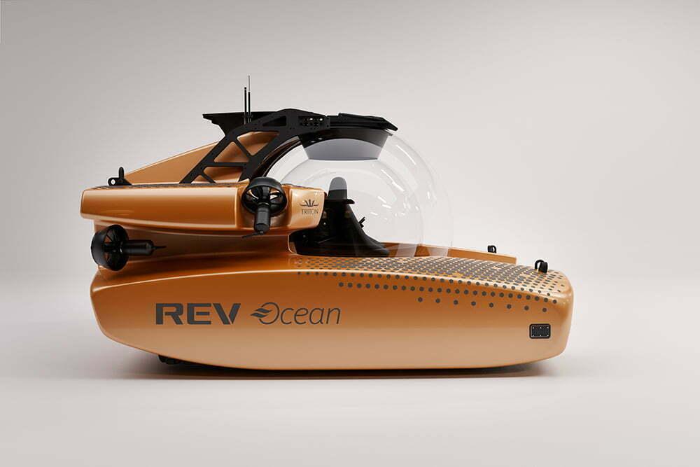 imagem do Minissubmarino REV Ocean