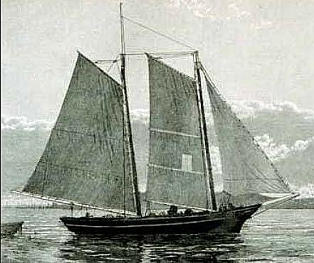 imagem do veleiro casco