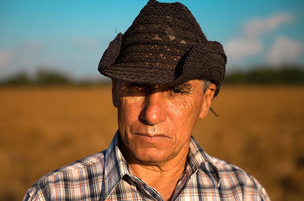 imagem de Mandira, presidente da associação de usuários da resex de Tracuateua