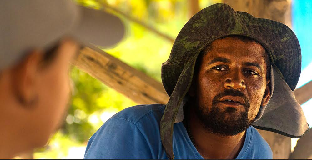imagem do pescador Lasmar, da Resex de Cassurubá