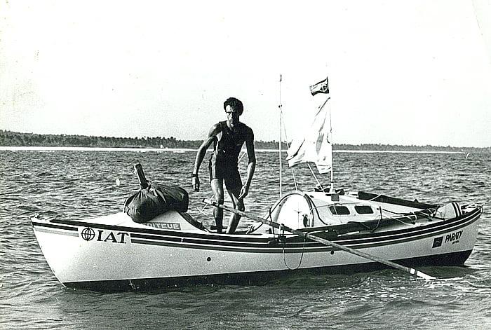 imagem de amor klink no barco a remo IAT