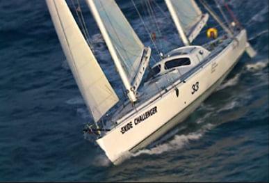 imagem do veleiro Exide Challenger