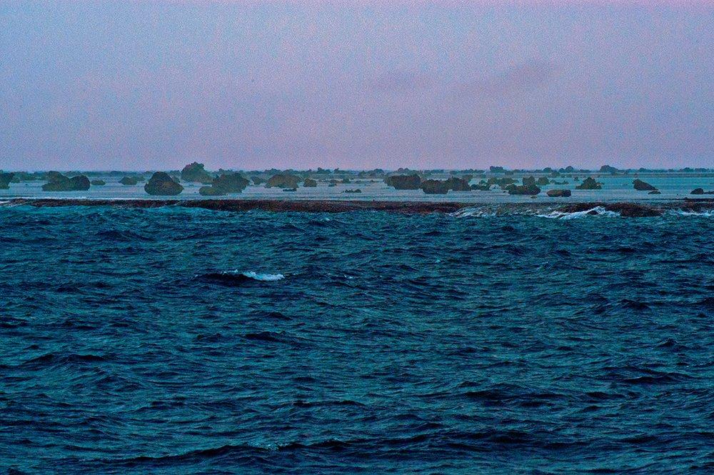 imagem do mar em Unidades de Conservação em terra e no mar