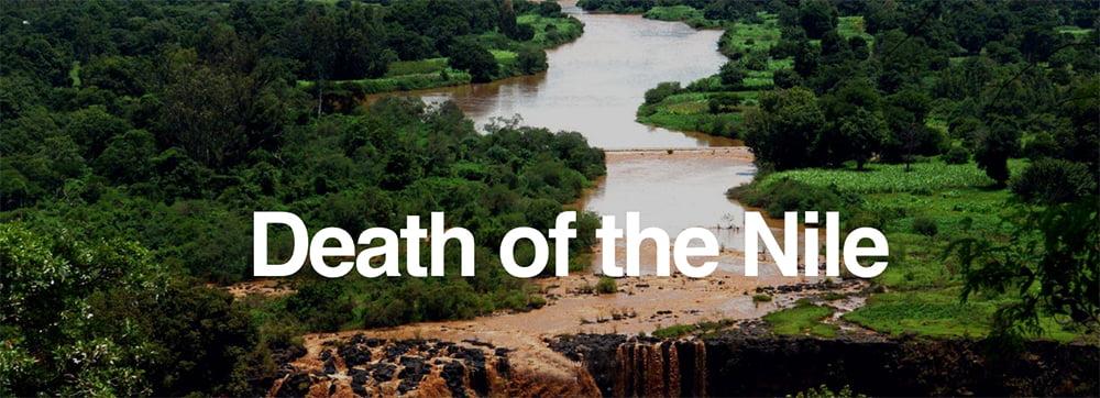 imagem do rio nilo na matéria da BBC a morte do rio nilo