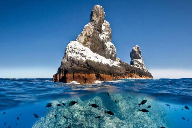 imagem de ilhota na nova área marinha protegida criada pelo México
