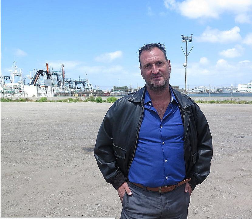 imagem de Luis Tagliapietra pai de um dos tripulantes do submarino desaparecido