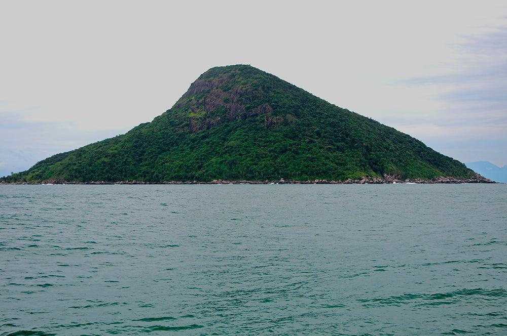 imagem da ilha do Montão de Trigo