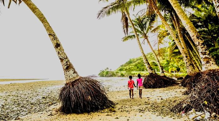 imagem de praia na república das Fíji