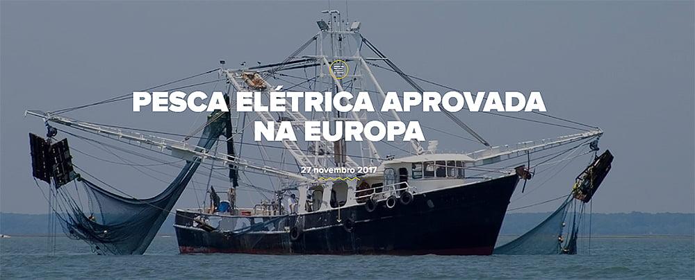 imagem de barco de pesca elétrica