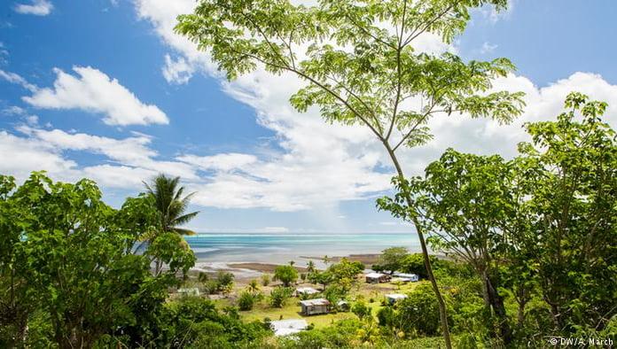 imagem do povoado de Vunisavisavi na república das Fíji
