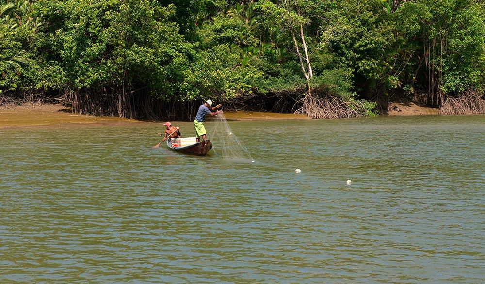 imagem de pescadores artesanais para a météria Volume de pesca no mundo