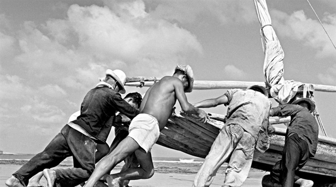 imagem da tripulação da jangada São Pedro