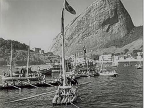 imagem da jangada São Pedro no Rio de Janeiro