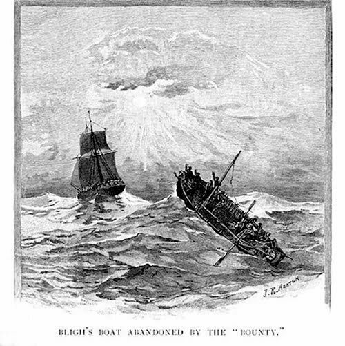 imagem de bote de William Blight