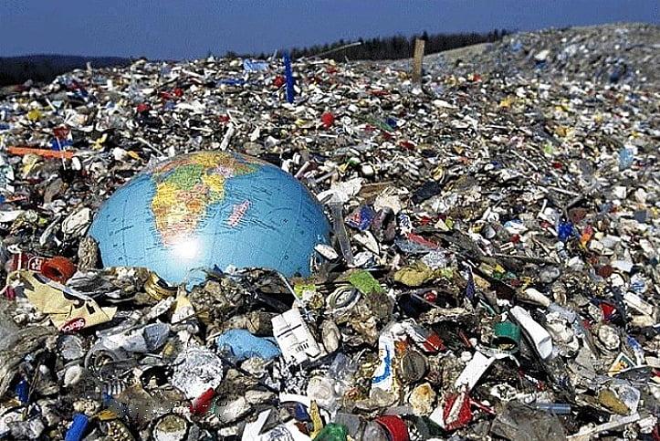 Ilustração de degradação ambiental para post Multas ambientais transformadas em investimentos ecológicos