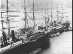 imagem do paquete a vapor Buenos Aires