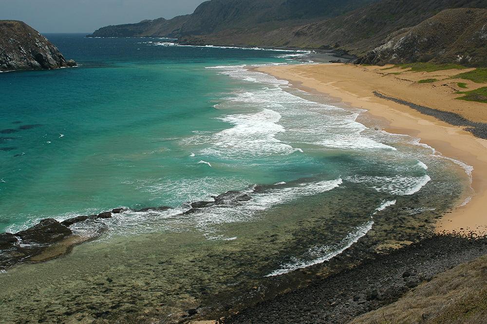 imagem da praia dos Leões, Fernando de Noronha