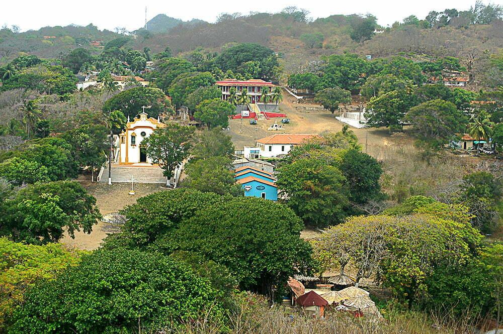 imagem da Vila dos Remédios, Fernando de Noronha