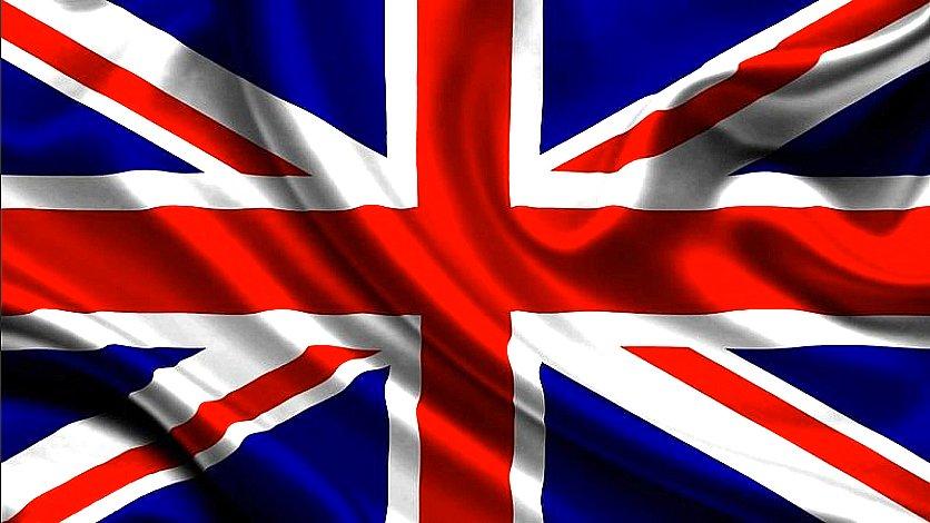 imagem da bandeira da Inglaterra, de onde vem a BBC