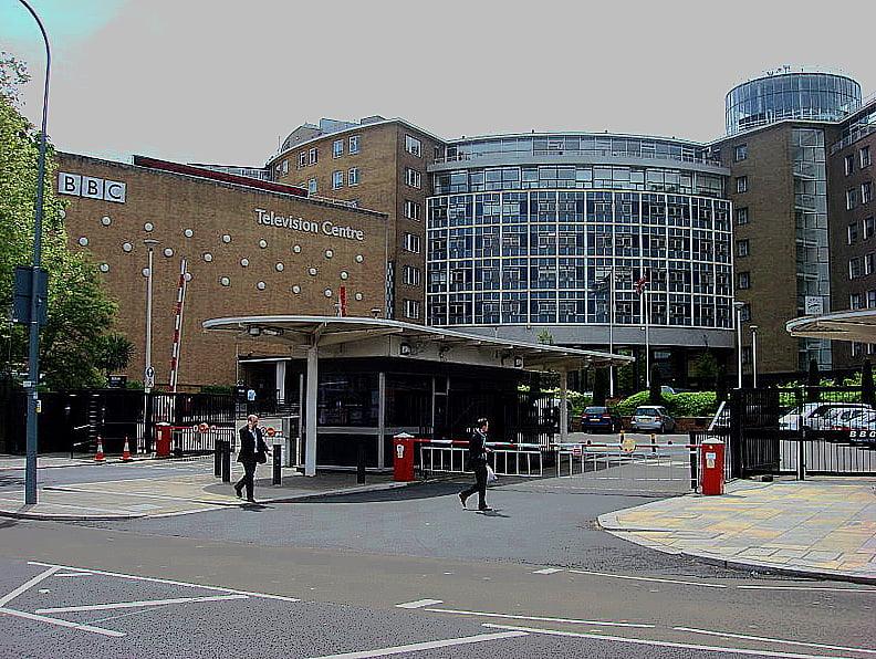 imagem do prédio da BBC de Londres