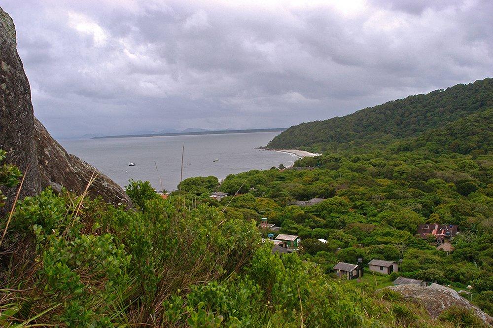 imagem do saco do limoeiro, nas ilha do Mel