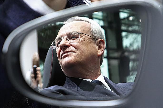 imagem de Martin Winterkorn, ex - CEO da Volkswagen