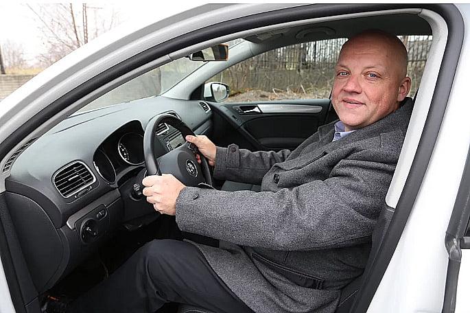 imagem de Oliver Schmidt, engenheiro da Volkswagen
