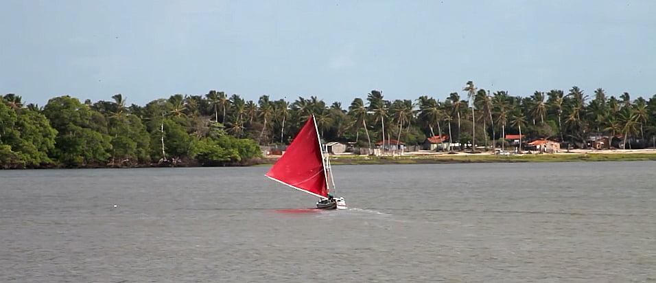 imagem de embarcações do Maranhão