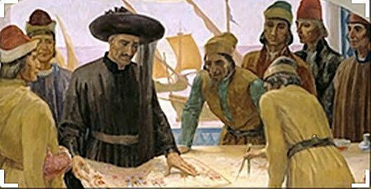 Pintura de D. Henrique e a escola de Sagres