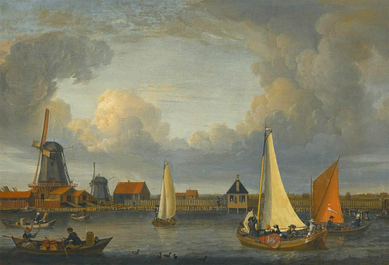 gravura da Holanda no século 17