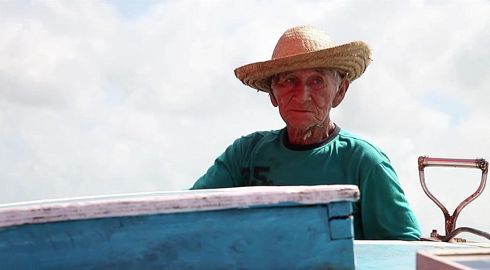 imagem de mestre de embarcações do Maranhão