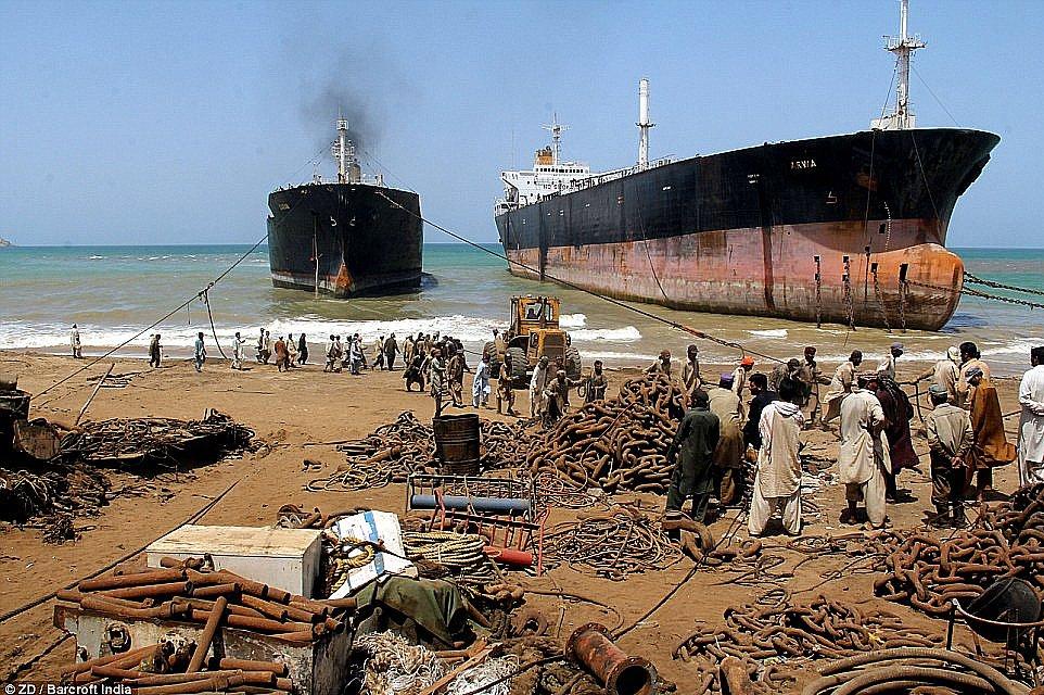 imagem de Desmanche de navios