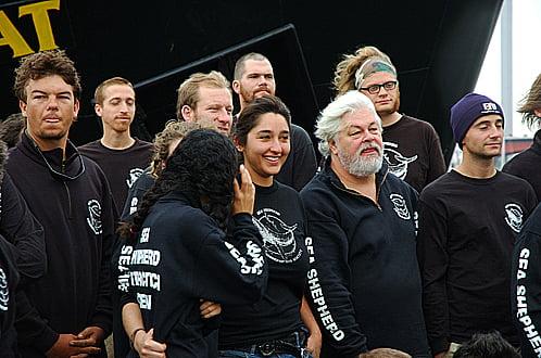 imagem do Capitão Watson do Sea Shepherd
