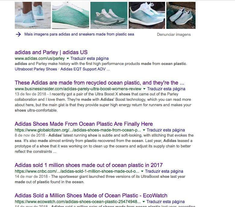 imagem da adidas no google