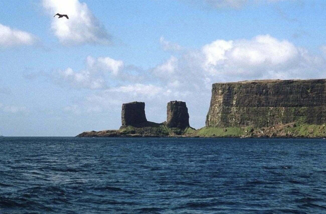 imagem da ilha Kurgelen.