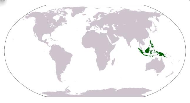 imagem de mapa da malásia