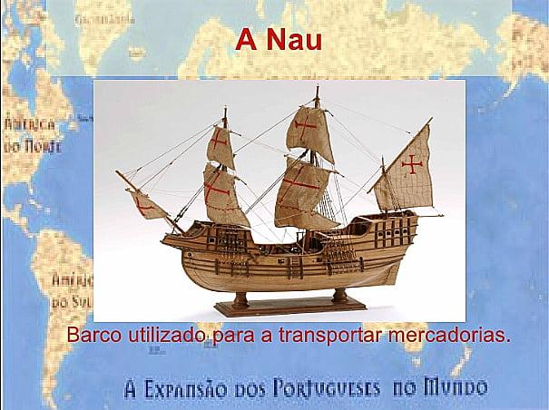 desenho da nau portuguesa