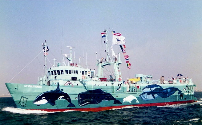 imagem de navio do Sea Shepherd