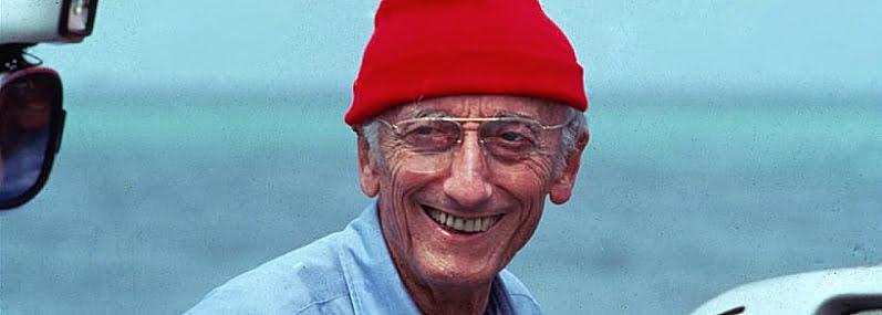 imagem de Jacques Cousteau