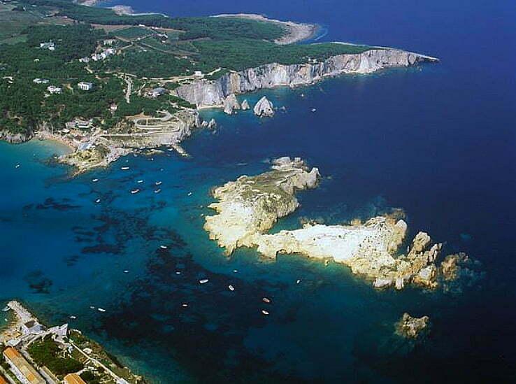 imagem das Ilhas Tremiti, Itália