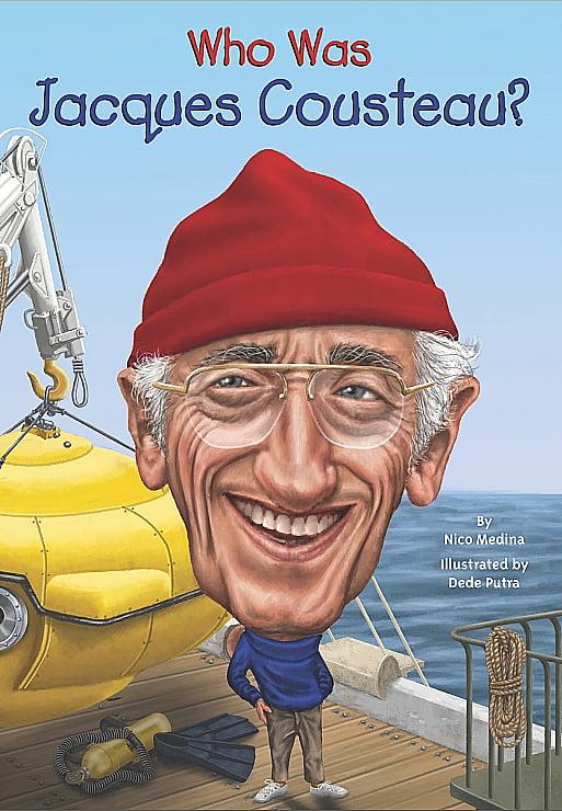 Ilustração de Jacques Cousteau