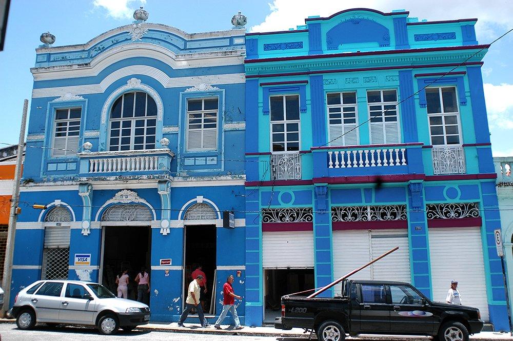 imagem do centro antigo de João Pessoa, Litoral da Paraíba