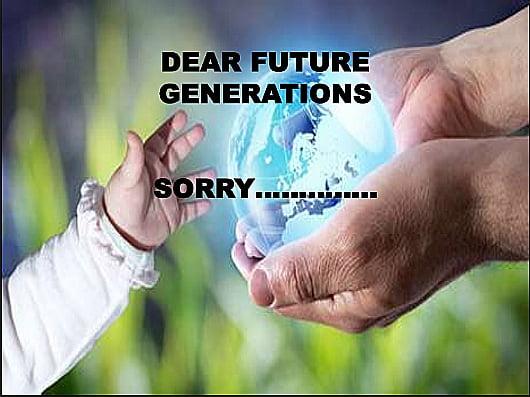 ilustração alusiva às futuras gerações