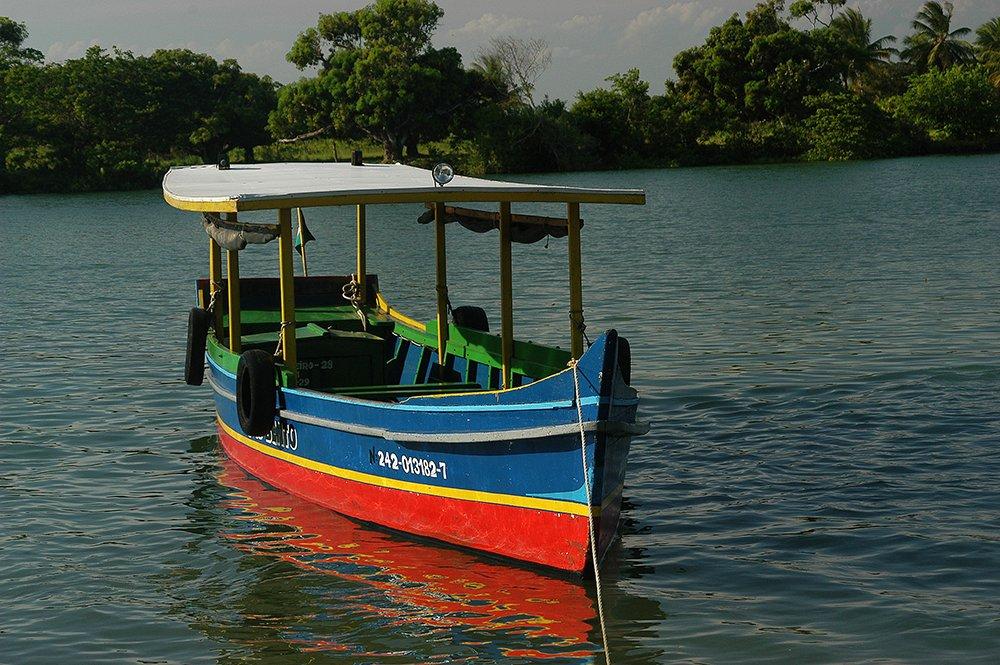 imagem de barco tradicional no são francisco